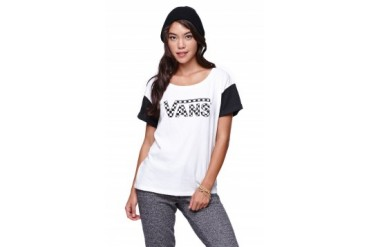 Womens Vans Tees & Tanks - Vans Colorblock T-Shirt