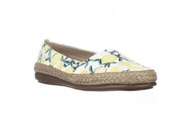 Aerosoles Solitaire Slip-On Espadrille Flats - Yellow
