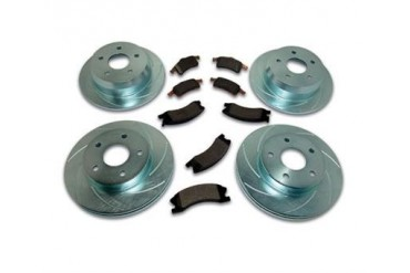 Stainless  Steel Brakes Short Stop Brake Kit  A2370017 Replacement Brake Pad and Rotor Kit