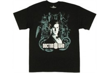 Dr Who Doctor Face T-Shirt