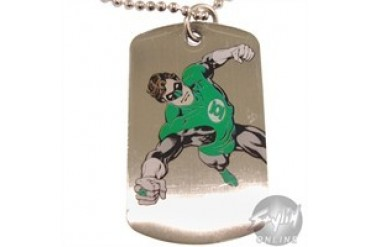 DC Comics Green Lantern Symbol Ring Charge Dog Tag