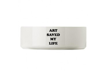 ART SAVED2.png Cool Large Pet Bowl by CafePress