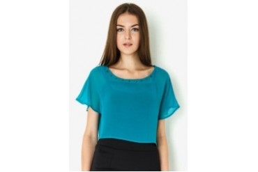 Wyle Pop SS Blouse Top