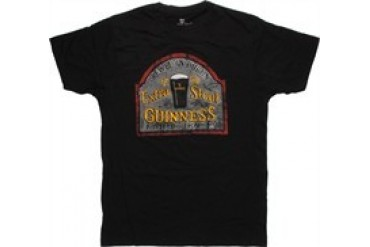 Guinness Extra Stout Sign T-Shirt Sheer