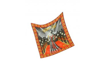 Cheap and Chic - Olive Oyl Star Silk Bandana