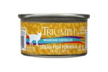 Triumph 6600299 Ocean Fish Cat Food, 3 Oz