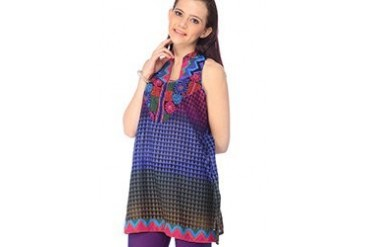 Global Desi Charming Multicolored Kurti