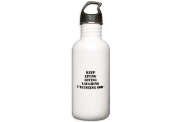 Love Stainless Water Bottle 1.0L by CafePress