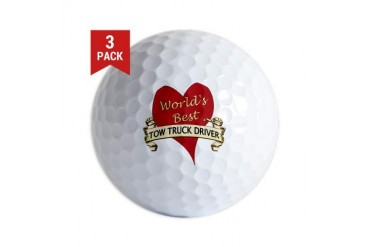 Hearts Golf Balls by CafePress