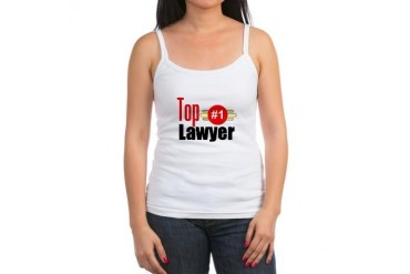 Top Lawyer Occupations Jr. Spaghetti Tank by CafePress