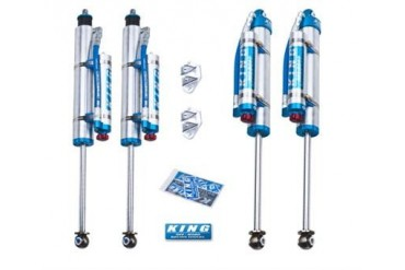 King Shocks Performance Series Shock Kit with Compression Adjusters 25001-280A Shock Absorbers