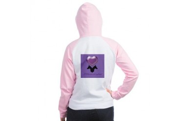 A Doberman Stole My Heart Pets Women's Raglan Hoodie by CafePress