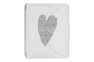 Black and white iPad 2 Cover by CafePress
