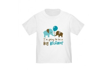 Big Brother to be - Elephant T-Shirt