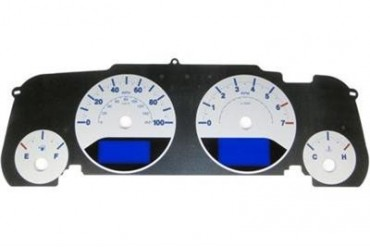 US Speedo Daytona Edition Color Replacement Gauge Face Kit WRA082 Instrument Panel Cover