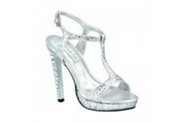 Touch Ups Shoes - Style Darcy Silver 547