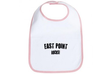 East Point Rocks Georgia Bib by CafePress