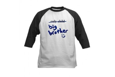 Only Child / Big Brother Kids Baseball Jersey