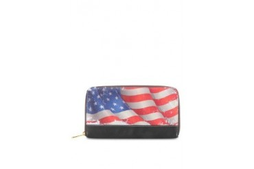 Tomio American Flag Wallets