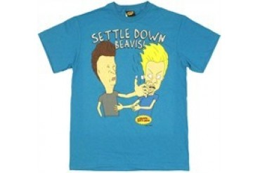 Beavis and Butthead Settle Down Beavis Slap T-Shirt