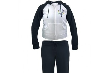 MARDI GRAS New orleans Women's Tracksuit by CafePress