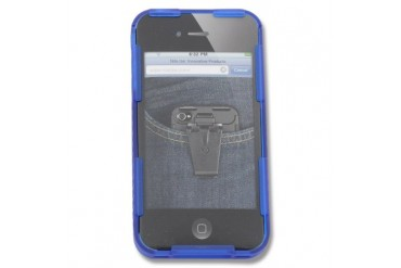 Nite Ize Connect Case iPhone 4S and4 - Blue Translucent