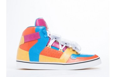 Adidas Originals X Jeremy Scott Bones in Multicolor size 10.0