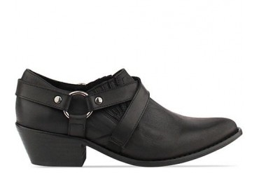 To Be Announced Desi in Black Leather size 11.0