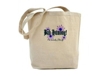 Bah Humbug No, really. Christmas Tote Bag by CafePress