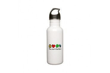 Peace Love Irish Dance Stainless Water Bottle 0.6L