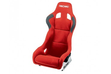 Recaro Profi XL Red VelourRed Velour Black Logo