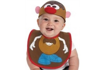 Mr Potato Head Bib and Beanie Hat Infant Costume