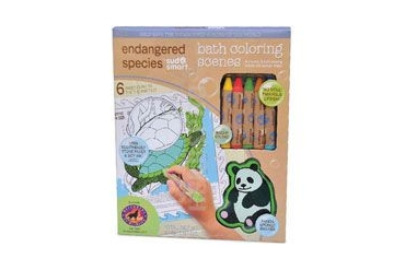 Endangered Species Animal Rescue Bath Set Coloring Small 1 Set