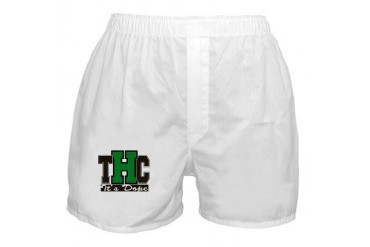 Cannabis THC It's Dope 420 Boxer Shorts by CafePress