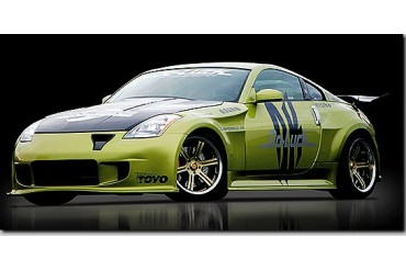 Do-Luck Aero Parts 4Piece Kit With Front Under Cover Nissan 350Z 03-08