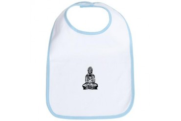 Little Buddha baby Baby Bib by CafePress