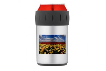 FLORAL FANTASY Thermos Can Cooler Beach Thermosreg; Can Cooler by CafePress