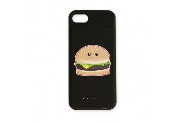 Hamburger Cute iPhone Charger Case by CafePress