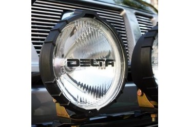 Delta Industries Delta 800H Series HID Driving Light Kit - Black 01-8029-HDB2 Offroad Racing, Fog & Driving Lights