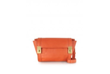 Jill Small Smooth Leather Crossbody Bag