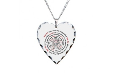NCIS GIBBS' RULES - Necklace Heart Charm