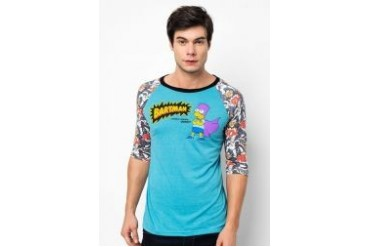 The Simpsons @ urban TEE Bartman Raglan Tee