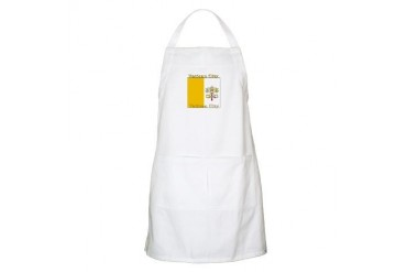 Vatican City BBQ Christian Apron by CafePress