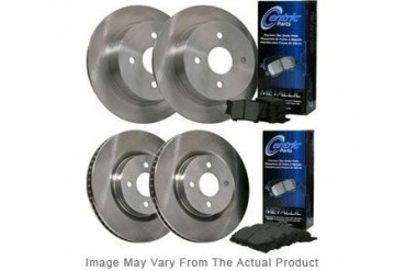 2000 Volvo S40 Brake Disc and Pad Kit Centric Volvo Brake Disc and Pad Kit BKB304730 00