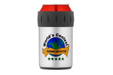 Thermos Can Cooler Nurse Thermosreg; Can Cooler by CafePress