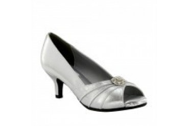 Dyeables Shoes - Style Kristin Silver 40214