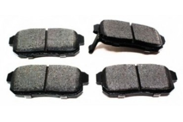 2001 Infiniti I30 Brake Pad Set Akebono Infiniti Brake Pad Set ACT1008 01
