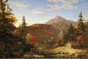 The Hunters Return Poster Print by Thomas Cole (24 x 36)