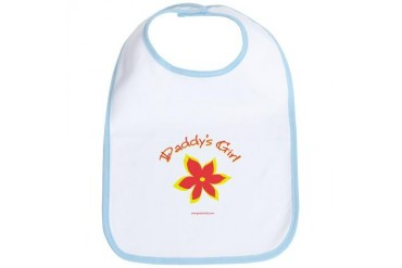 Daddy's Girl Family Bib by CafePress