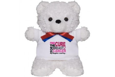 Find The Cure 1.2 Breast Cancer Breast cancer Teddy Bear by CafePress